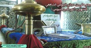 سيدي علي بن حجازي البيومي الشافعي الشهير ( بنور الدين البيومى )